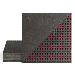 Magma Demi-Micros 200 Pattern Tiles - Burgundy