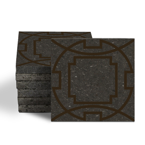 Magma Eleos A Pattern Tiles - Wenge