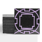 Magma Eleos A Pattern Tiles - Lilac