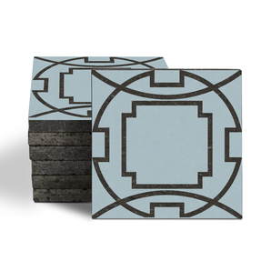 Magma Eleos B Pattern Tiles - Ice