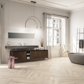 Scent Wood Effect Tiles  - Smoke
