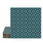 Magma Eneride 400 Pattern Tiles - Turquoise