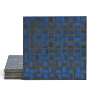Magma Enisa Pattern Tiles - Sapphire