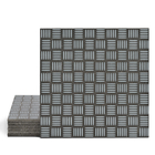 Magma Enisa Pattern Tiles - Cement