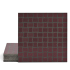 Magma Enisa Pattern Tiles - Burgundy