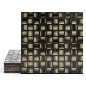 Magma Enisa Pattern Tiles - Taupe