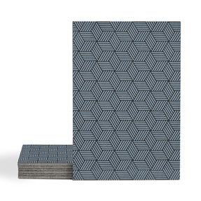 Magma Gea Pattern Tiles - Denim