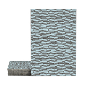 Magma Gea Pattern Tiles - Ice