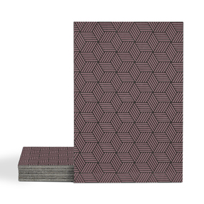 Magma Gea Pattern Tiles - Burgundy