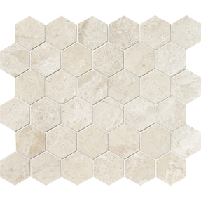 Diana Royal Marble  Hexagon Pattern Mosaic