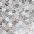 Skyline Marble  Hexagon Pattern Mosaic