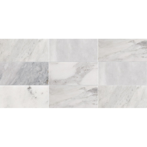 Avenza Marble Rectangle Stack Bond Pattern Mosaic