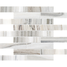 Skyline Marble Rectangle Brick Bond Pattern Mosaic
