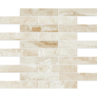 Diana Royal Marble Rectangle Brick Bond Pattern Mosaic