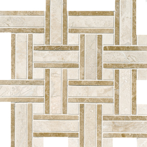 Diana Royal Marble Lattice Pattern Mosaic