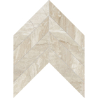 Diana Royal Marble Chevron Pattern Mosaic
