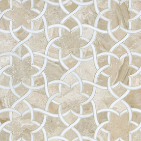 Diana Royal & Dolomite Marble Isidore Pattern