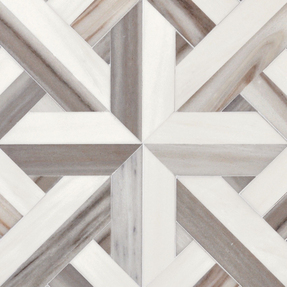 Dolomite & Skyline Vein Cut Marble Rubicon Pattern