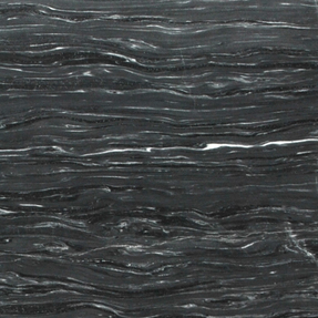 Midnight Storm Vein Cut Marble Octagon Pattern Mosaic