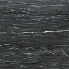 Midnight Storm Vein Cut Marble Herringbone Pattern Mosaic
