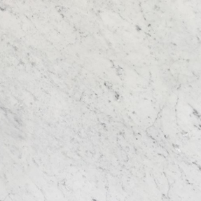 Bianco Carrara C Marble Square Stacked Pattern Mosaic