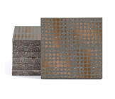Magma Eleide Pattern Tiles - Bronze