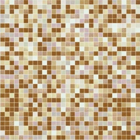 Shading Blend Cinnamon Glass Mosaic