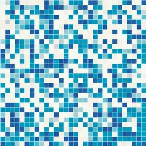 Shading Blend Eucalyptus Glass Mosaic