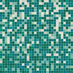Shading Blend Peppermint Glass Mosaic