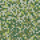 Shading Blend Sage Glass Mosaic