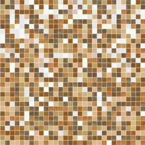 Shading Blend Sandalwood Glass Mosaic