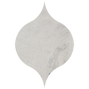 Thala Grey Limestone Winter Leaf Pattern Tiles